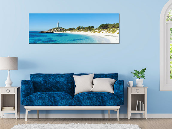 Acrylic Painting: Rottnest Island Pinky Beach Perth Furniture Store Adore Home Living Homewares & Decors