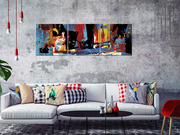 Acrylic Painting SET OF 3: Abstract