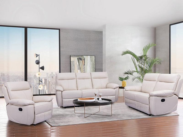 Boulevard 3PC Leather Recliner Suite - Adore Home Living Perth WA