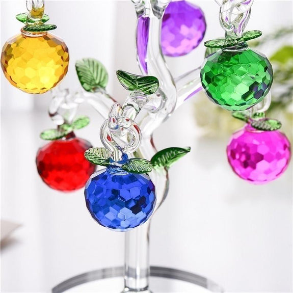 Colourful Crystal Apple Tree  Adore Home Living