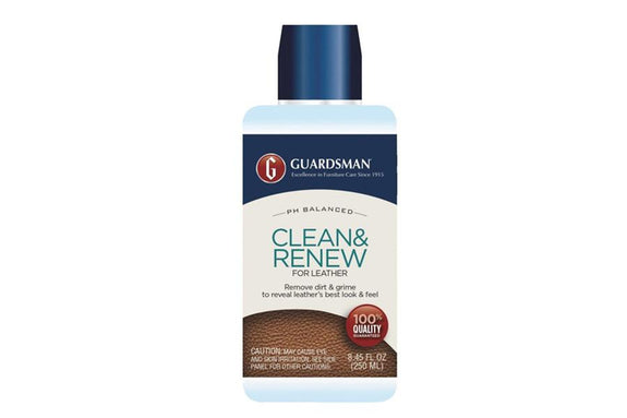 Guardsman - Leather Clean&Renew 250ml Leather Care Adore Home Living