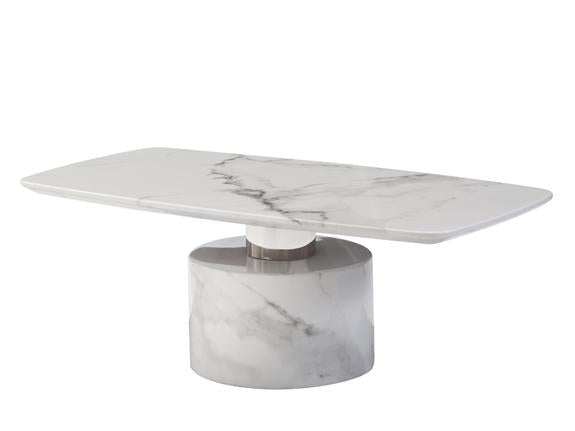 Geneva Marble Coffee Table Coffee Table Adore Home Living