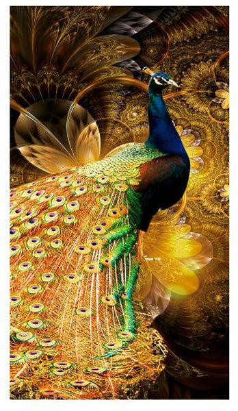 Diamond Painting Peacock King