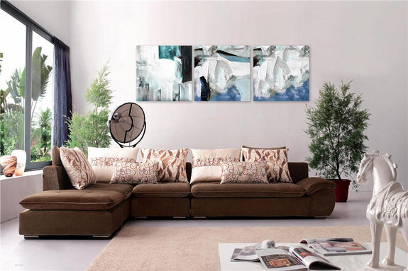 Wall Painting Set of 3 Quiet - Adore Home Living Perth WA