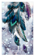 Diamond Painting The Pure Feathers Diamond Wall Art Adore Home Living