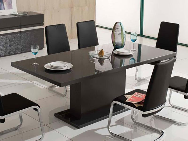 Germano Glass Dining Table Dining Table Adore Home Living