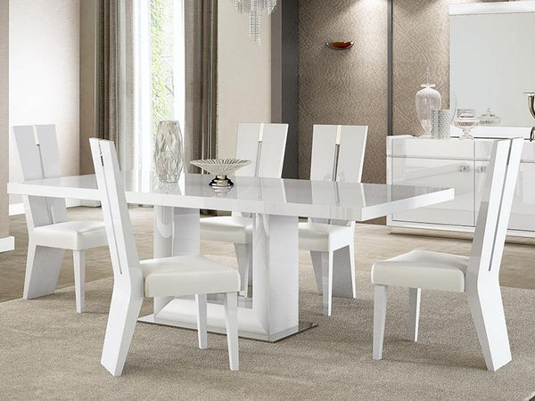 Grace High Gloss Dining Table - Adore Home Living Perth WA