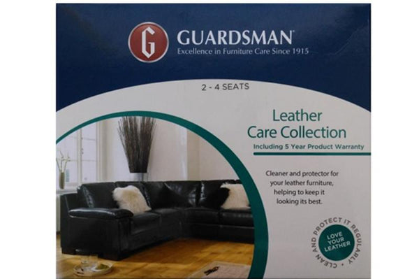 Guardsman - Leather Care Collection - Including 5 Year Product Warranty