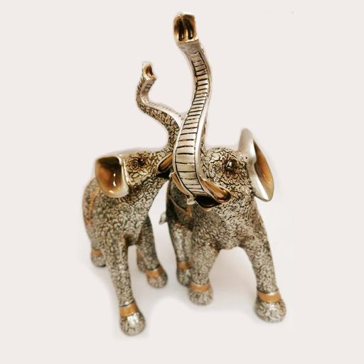 Father Elephant Pair Decor Ornament Adore Home Living