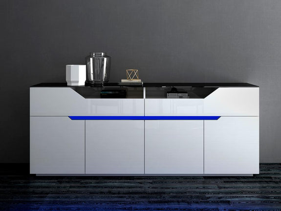 Helga Buffet with LED Light - Adore Home Living Perth WA