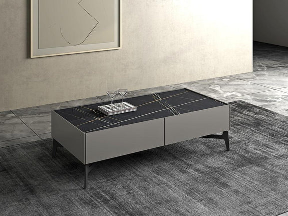 Henderson Ceramic Top Coffee Table Coffee Table Adore Home Living