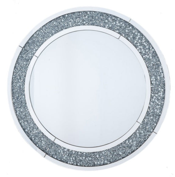 Morris Crushed Diamond Wall Mirror Adore Home Living Perth Furniture Store Homewares & Decor