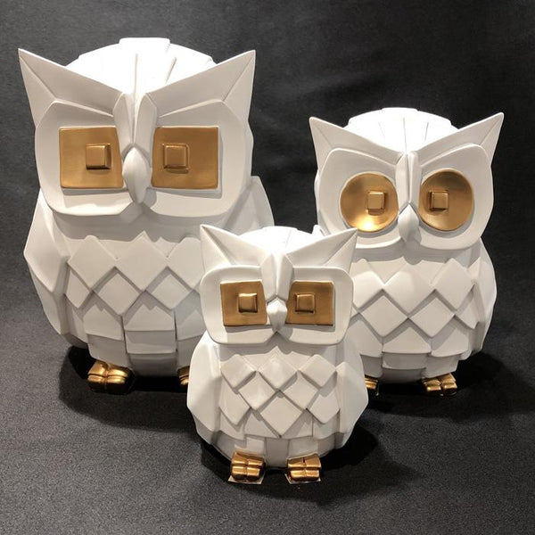 Loving Owl Family Ornament White Adore Home Living