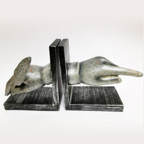 Bookend Hands Pair