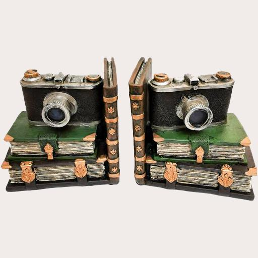 Bookend Camera Pair bookends Adore Home Living