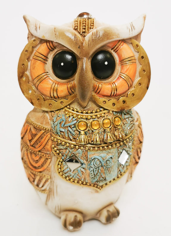 Big Eyed Owl Decor Ornament Adore Home Living