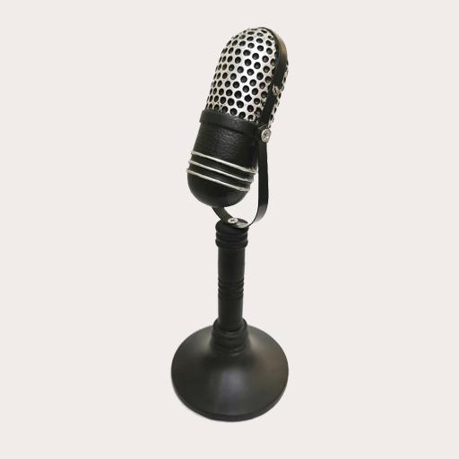 Microphone Decor Ornament Adore Home Living