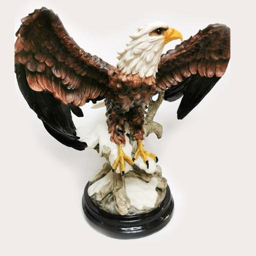 Eagle Sculpture Decor Ornament Adore Home Living