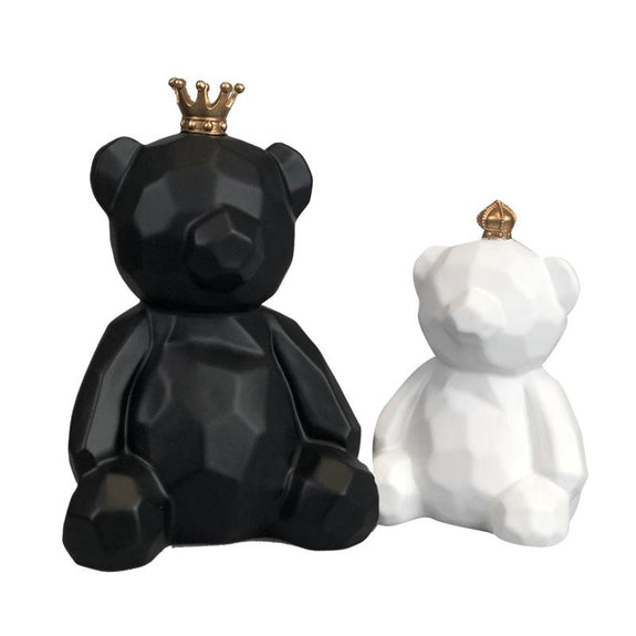 Pair of little Teddy, Teddy Bears Ornaments, Cute Little Teddy ornaments, Teddy Bears Couple