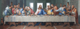 Last Supper Acrylic Wall Art 150x50cm