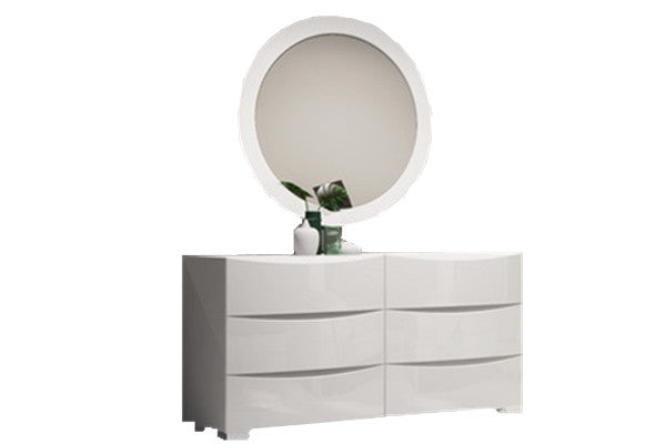 Reva Dressing Table with Mirror