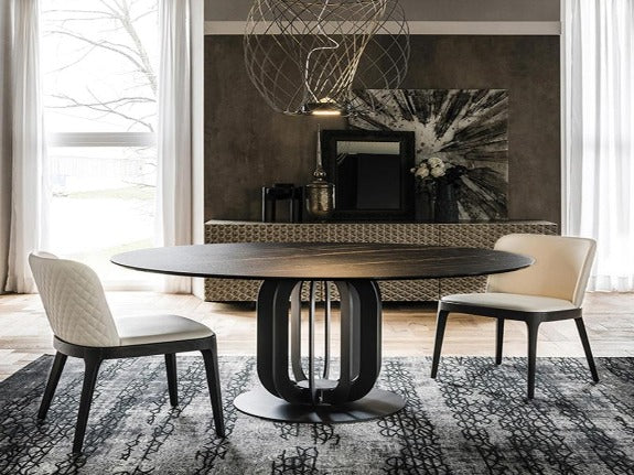 Russell Sintered Stone Top Dining Table
