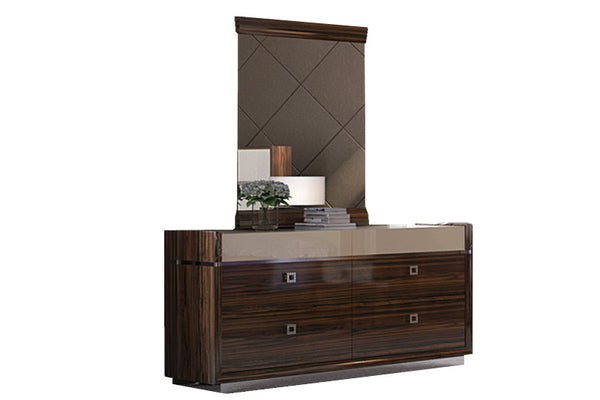 Vogue Dressing Table with Mirror - Adore Home Living