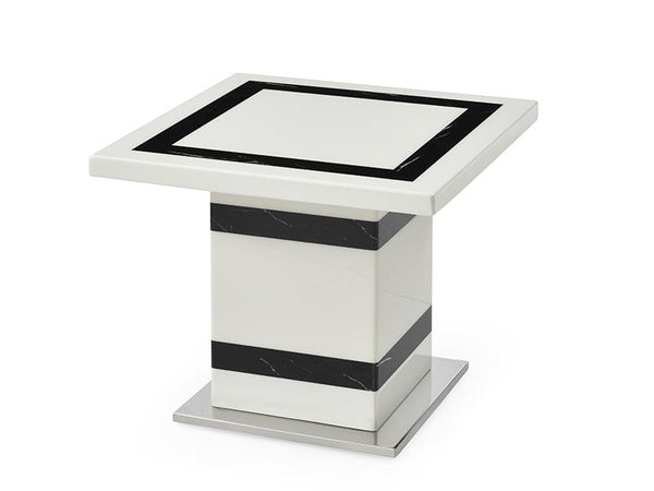 Tahana Marble Lamp Table