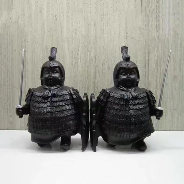 Terracotta Warriors Bookends set of 2  Adore Home Living