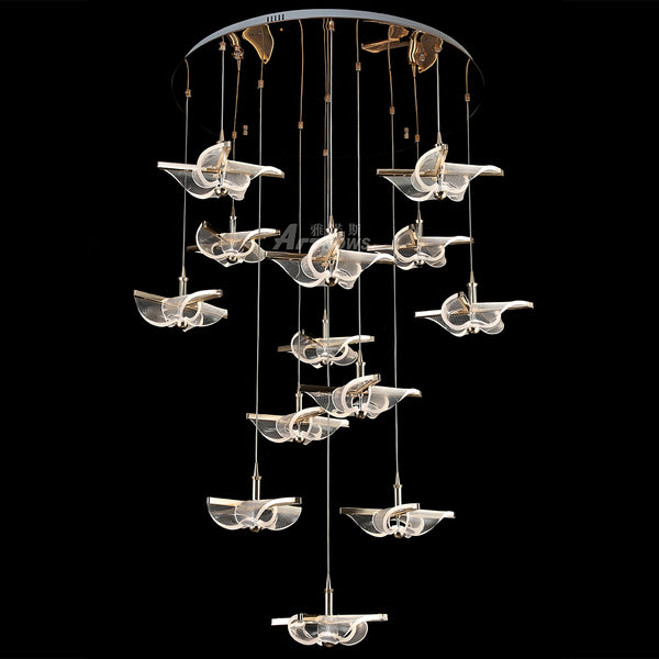 Priscilla Long Chandelier