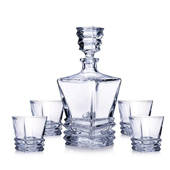 Thomas Decanter Set: Decanter & 6 Tumblers Decor Gift Set Adore Home Living
