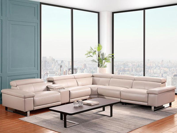 Tristan Corner Lounge Leather Lounge Adore Home Living