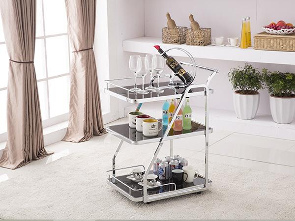 Walker Rectangle Drink Trolley Bar Cart Bar Carts Adore Home Living