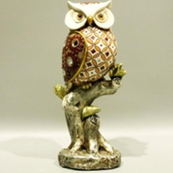 Watchful Owl Resin Adore Home Living