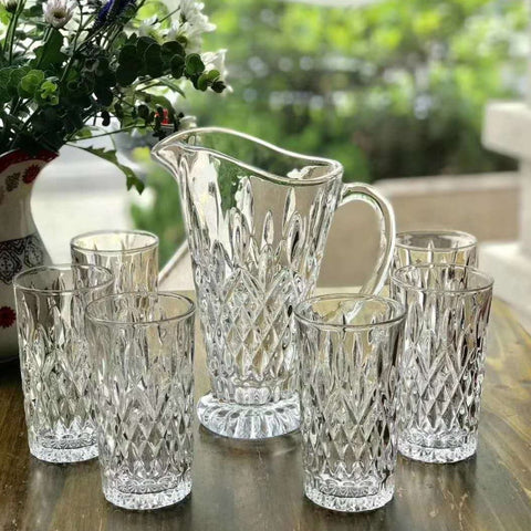 Kaylee 7 pcs Glass Set