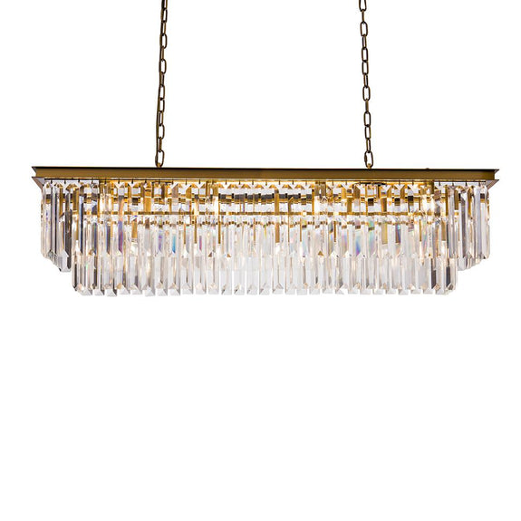 Stancy Rectangle Pendant Pendant Adore Home Living