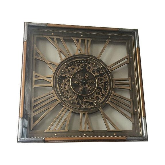 William Mechanical Wall Clock