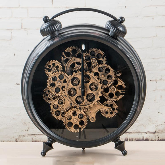 Thomas Mechanical Table Clock Table Clock Adore Home Living