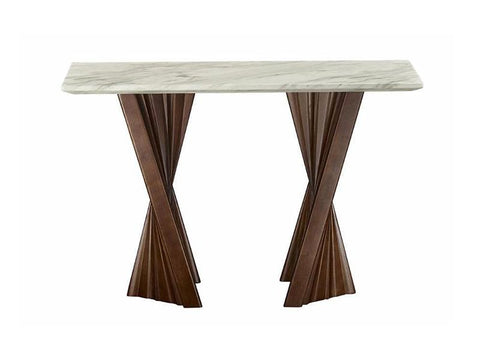 Alpha Marble Console Table