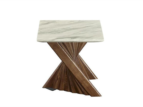 Alpha Marble Lamp Table