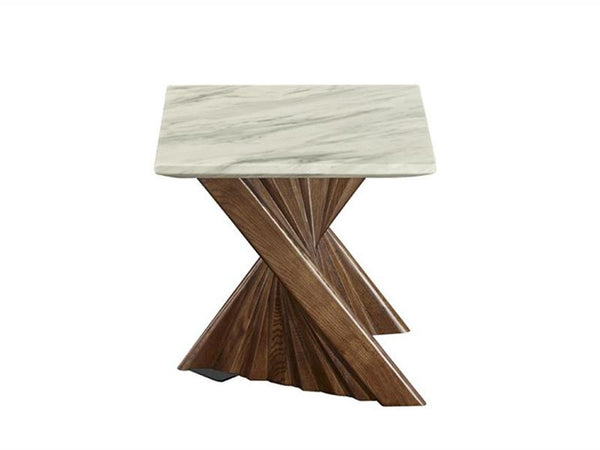 Alpha Marble Lamp Table - Adore Home Living Perth WA