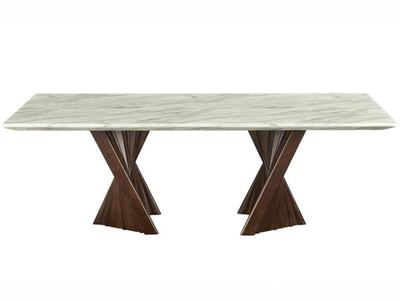 Alpha Marble Dining Table - Adore Home Living Perth WA