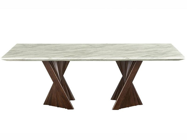 Alpha Marble Dining Table - adore-online.myshopify.com  -  Dining Table
