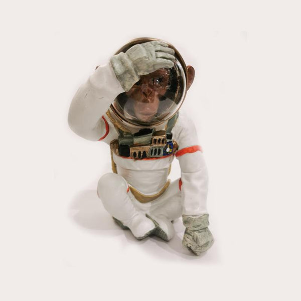 Astronaut Monkey : See No Evil Decor Ornament Adore Home Living