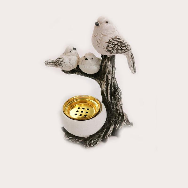 White Birds Family A Decor Ornament Adore Home Living