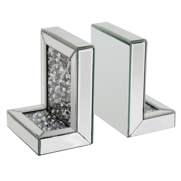 Elegant Vienna Crystal bookend Set of 2