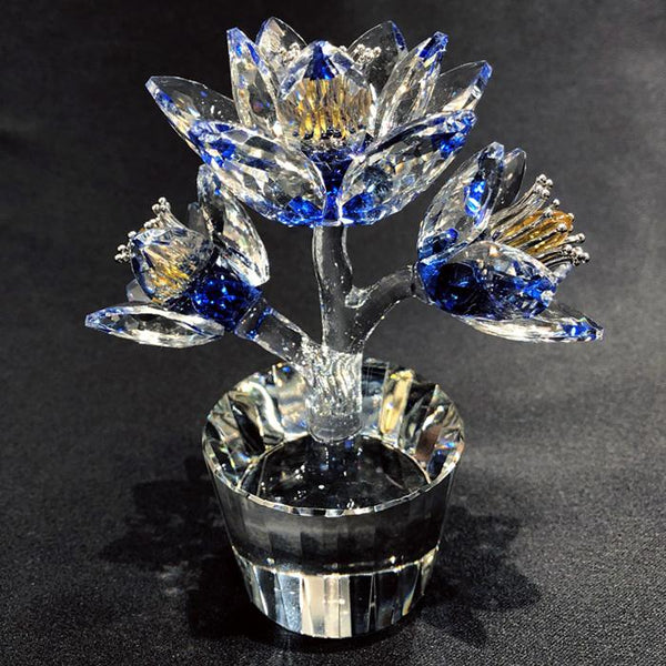 Crystal Flower Dreams Blue Adore Home Living