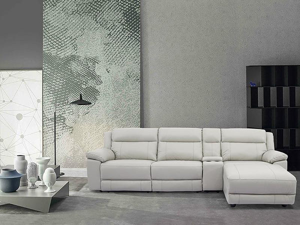 Fabio Leather Lounge - Adore Home Living Perth WA