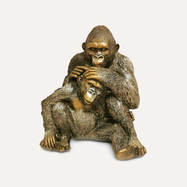 Gorilla Family Decor Ornament Adore Home Living