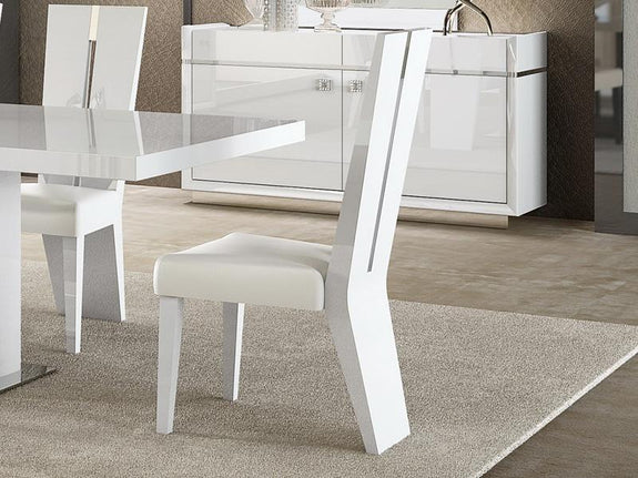 Grace High Gloss Dining Chair - Adore Home Living Perth WA